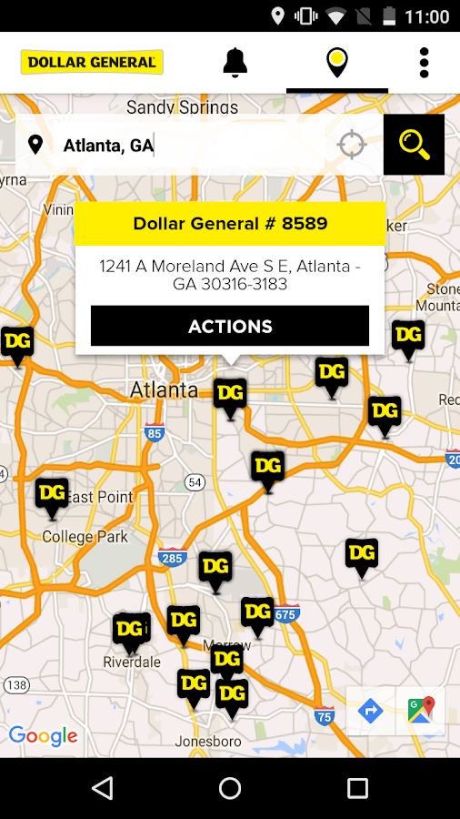 Dollar General- screenshot