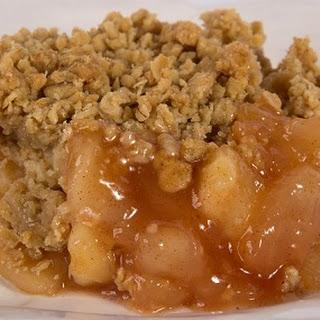 Grandma's Apple Crisp.