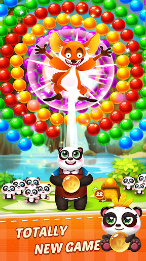 Télécharger Bubble Shooter 3 Panda APK MOD (Astuce) screenshots 4