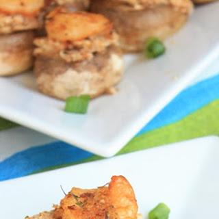 Shrimp Scampi Stuffed Mushrooms.