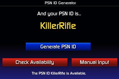 psn id generator 1