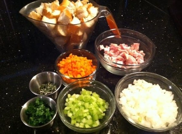 GATHER INGREDIENTS...TRUST ME IT MAKES IT EASIER HAVN ALL READY B4 COOKN :)