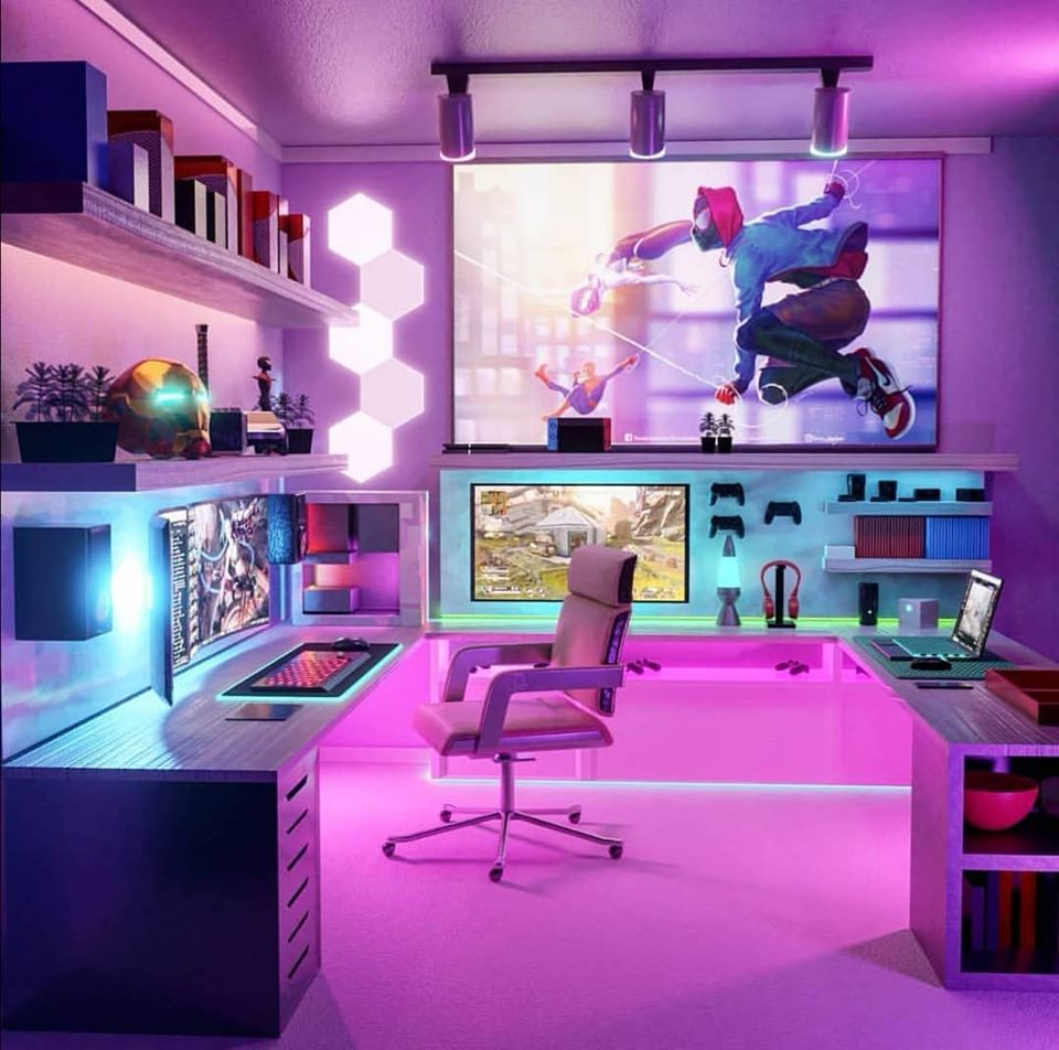 Gaming Room Design Ideas