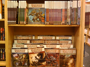 Photo: I used to be a Dungeon Master when I was in Intermediate and High School in Hawaii. Good to see there are still loads of D&D stuff to play with.