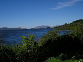 Photo: Lough Corrib, from the grounds of Ashford Castle