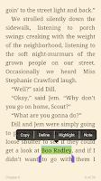Screenshot of BookShout!