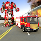 Fire Truck Robot Rescue Transforming Firefighter