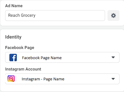 Facebook and Instagram Page Selection - Lia infraservices