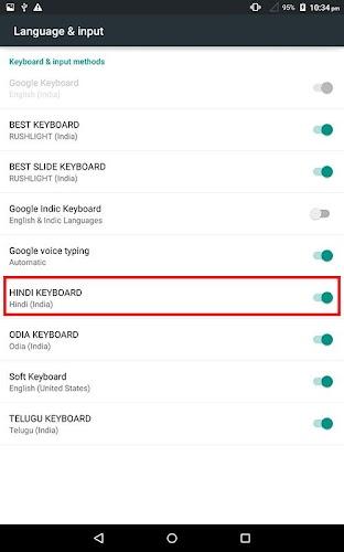 Download Hindi Keyboard APK latest version App by