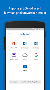 Microsoft Outlook - náhled