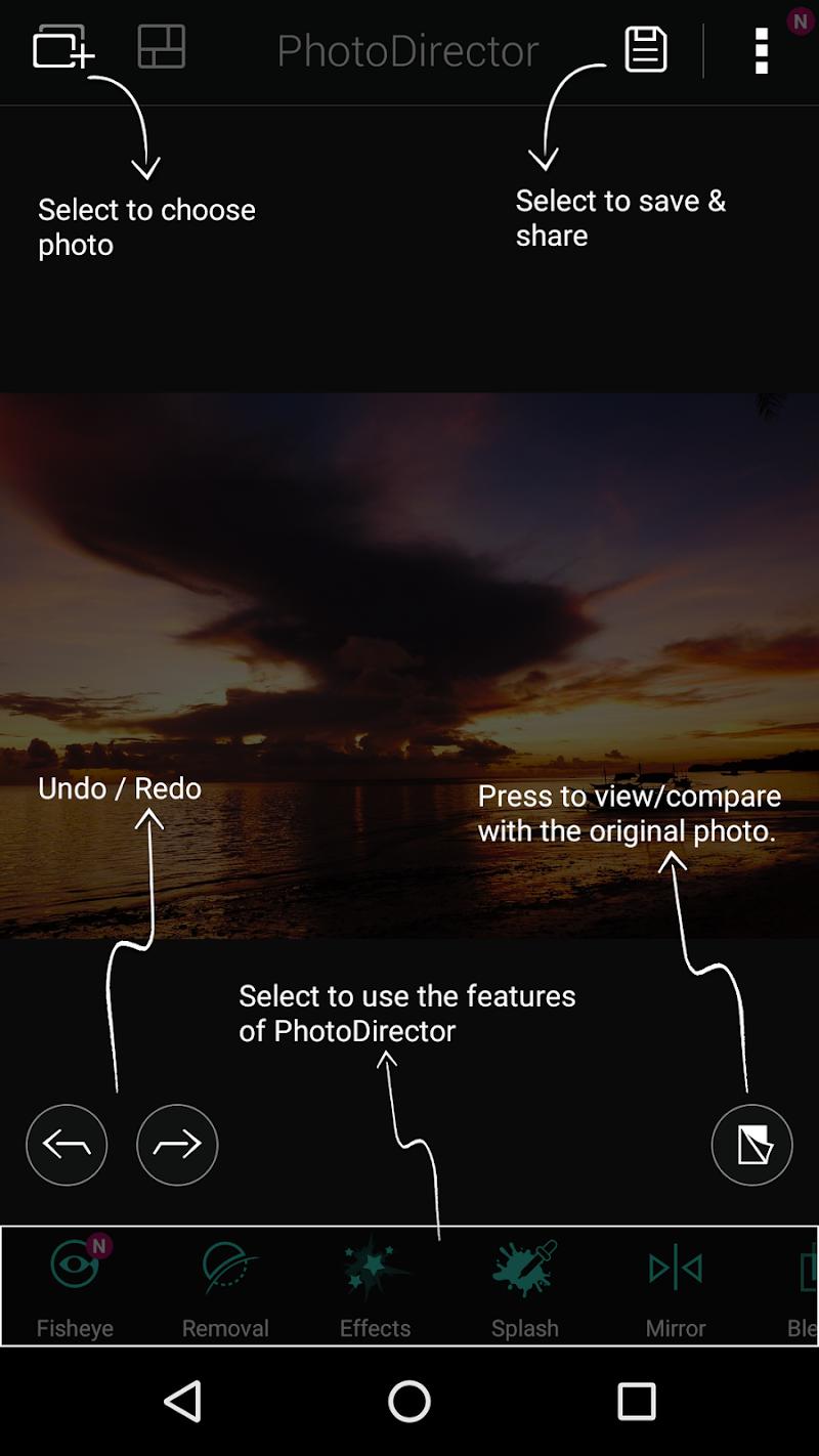 PhotoDirector Photo Editor App Screenshot 15