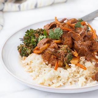 Crockpot Thai Beef Stew