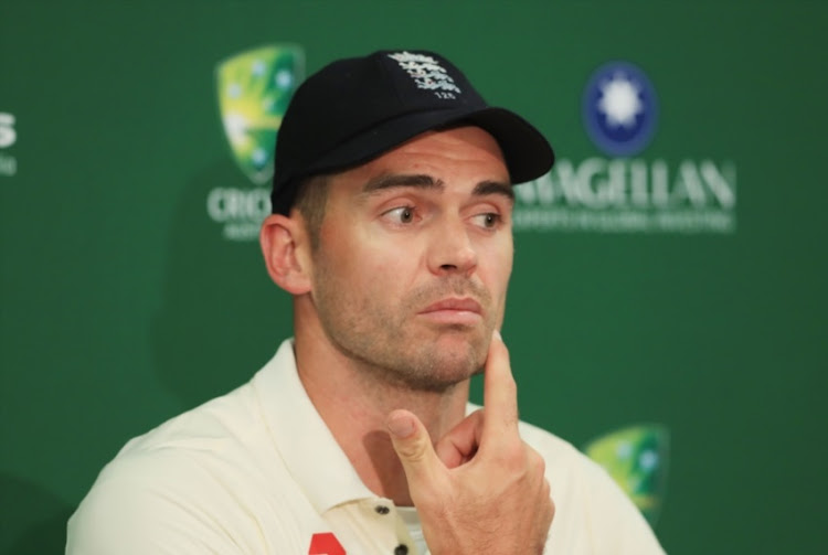 James Anderson of England gives a press conference after day five of the Fifth Test match in the 2017/18 Ashes Series between Australia and England at Sydney Cricket Ground on January 8, 2018 in Sydney, Australia.