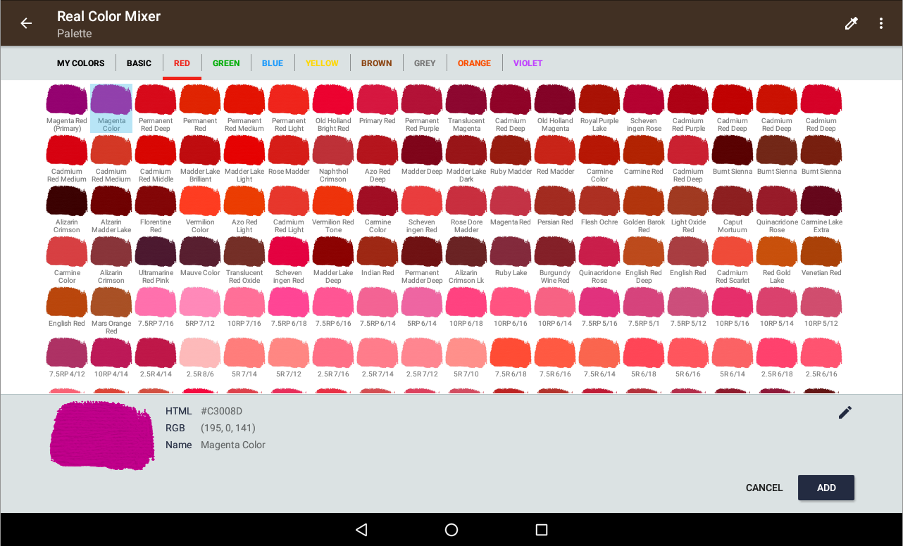 Real color mixer android apps on google play real color mixer screenshot nvjuhfo Choice Image