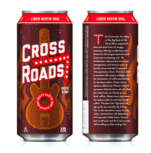 Logo of South Austin Brewery Crossroads Coffee Stout