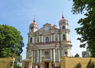 Photo: A few miles out of town is the Church of Saint Peter and Paul.  It dates from the early 1600's.