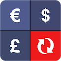 Currency Converter - 170+ real-time exchange rates icon