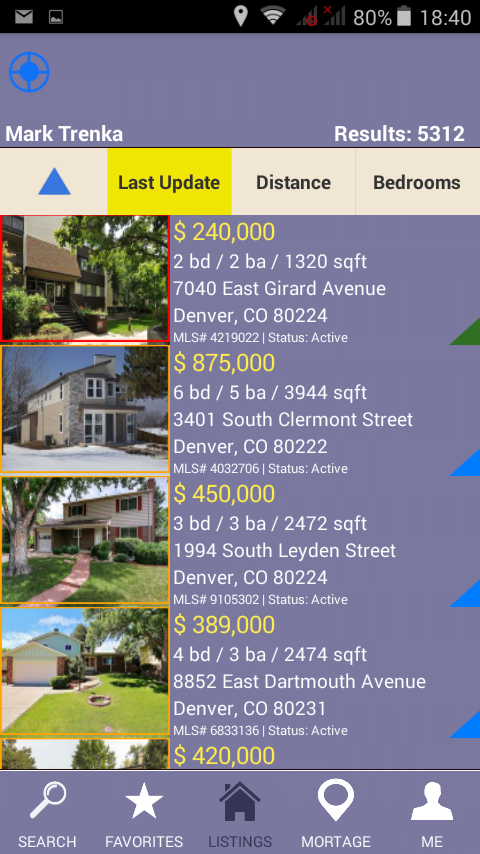 Trenka Real Estate- screenshot