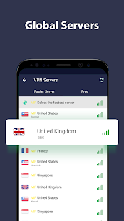 VPN Proxy Master - free unblock VPN & security VPN Screenshot