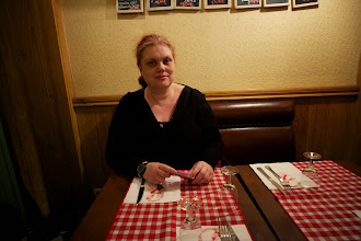 Photo: First dinner in a Parisian cafe