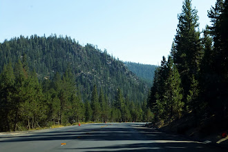 Photo: Yet another scenic route through the Sierra Nevada mountains
