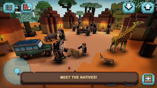 Savanna Safari Craft: Animals 1.13-minApi23 screenshots 9