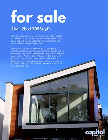 Capitol Real Estate - Poster template