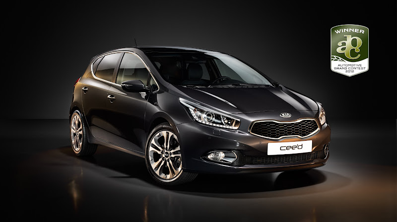 Photo: The all-new cee'd triumphs in both the exterior and interior category.