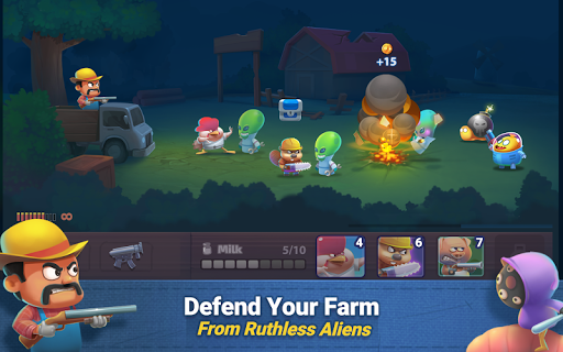 Farm Guns: Alien Clash 2018 0.7 screenshots 2