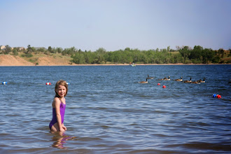 Photo: Hanging out at a reservoir near Denver