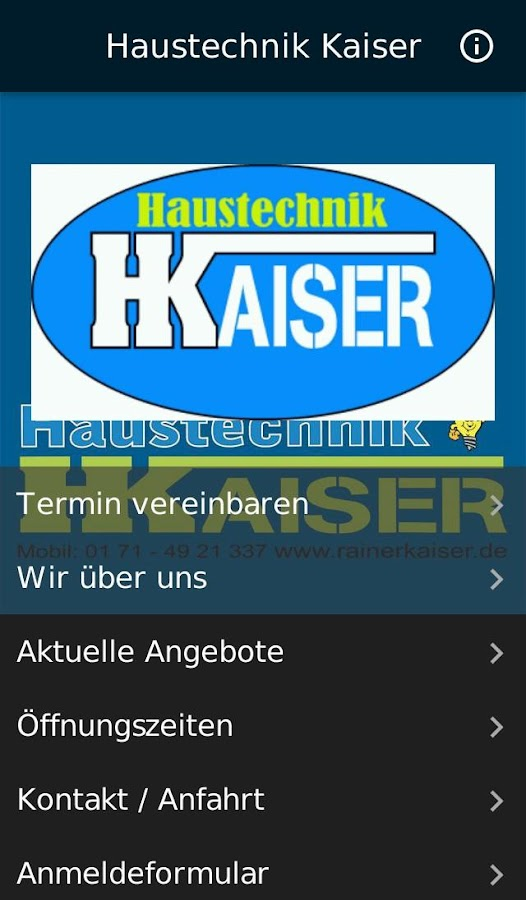 Haustechnik Kaiser- screenshot