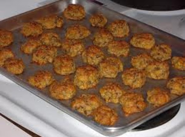 Place the sausage balls on an ungreased baking sheet. Bake at 375° until slightly...