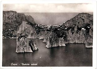 Photo: Capri - Veduta aerea Ediz. Michele Della Monica - Capri