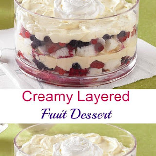 Layered Fruit Dessert Recipes.
