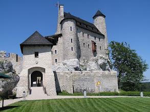 Photo: B5260049 Bobolice - ozywione ruiny zamku