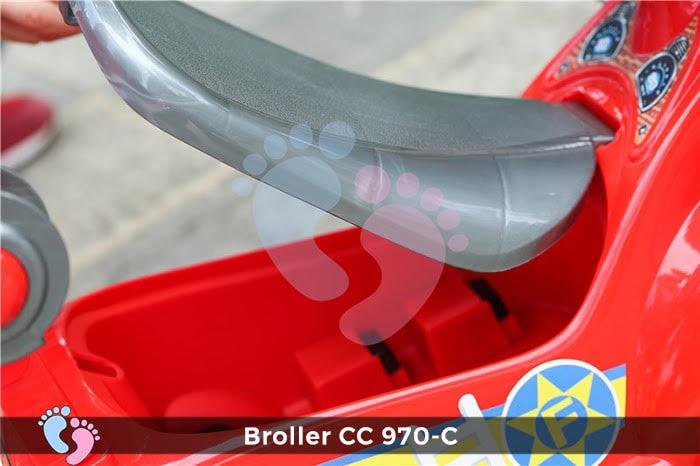 Xe chòi chân Broller CC YH-970C có mái che 6