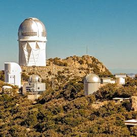Kitt Peak by Richard Michael Lingo - Buildings & Architecture Public & Historical ( observatory, kitt peak, arizona, buildings, architecture )