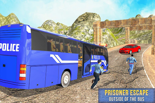 US Prisoner Police Bus: Bus Games 1.0 screenshots 1