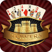 Towers TriPeaks: Classic Pyramid Solitaire  Icon