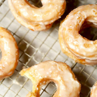 Puff Pastry Cronuts with Buttermilk Glaze.