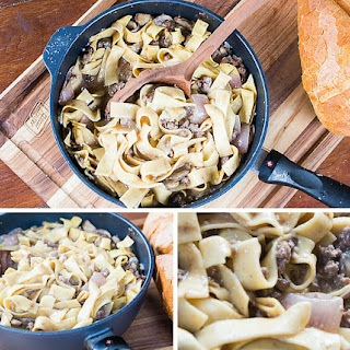 Better-for-You One Pot Beef Stroganoff