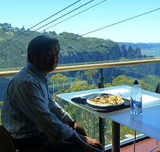 Photo: Lunch at the Blue Mountains