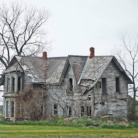 Forgotten by Donna Davis Kasubeck - Buildings & Architecture Decaying & Abandoned (  )