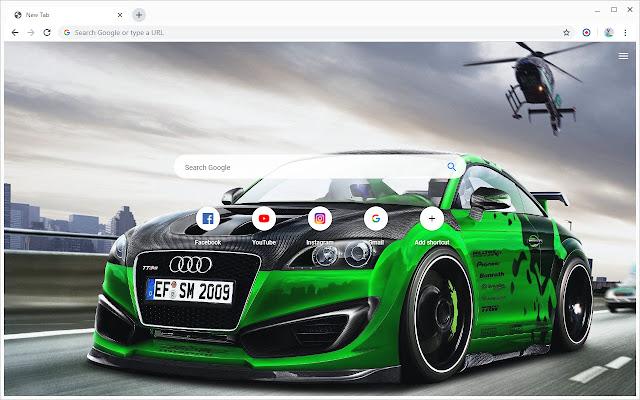 New Tab - Audi