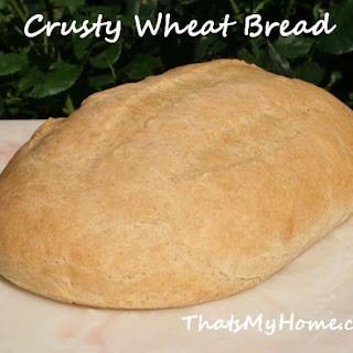 Crusty Wheat White Bread