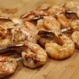 Sweet And Spicy Glazed Shrimp.