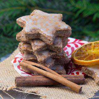 Vegan Orange Cinnamon Christmas Cookies.