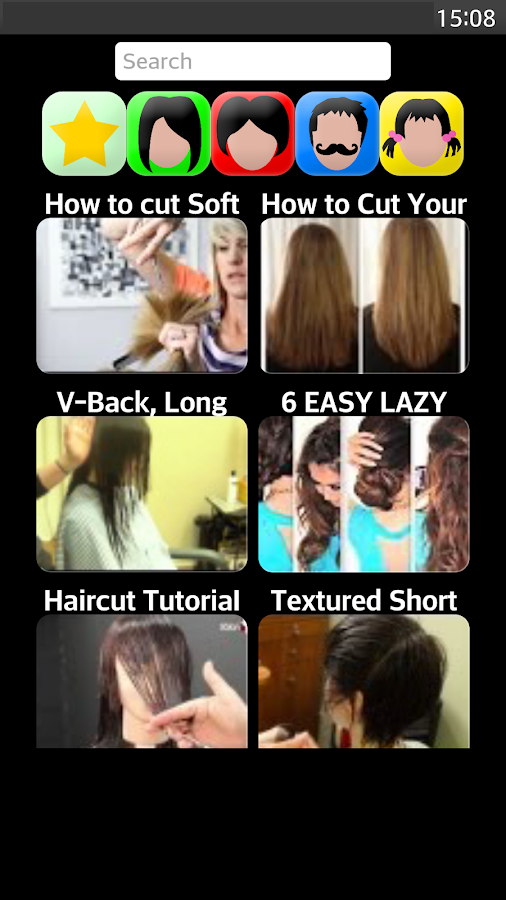 Excellent Hairstyle App Android Apps On Google Play Short Hairstyles Gunalazisus