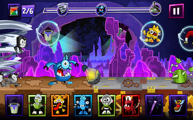 Mixels Rush - screenshot