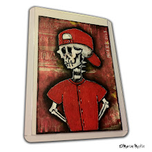 Photo: 1121 Skelly. 30Jan2013. Acrylics and ink on 100 lb. acid-free paper. Sealed with a matte finish. ©Marisol McKee